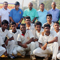 Victory in T-20 Corporate Tournament