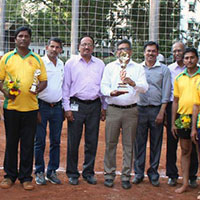 Volleyball tournament by DMCC Sports Club
